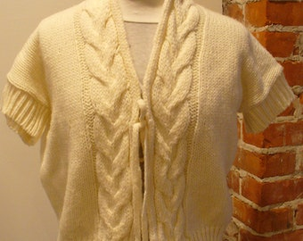 Made in Italy Berretti Cable Knit Sweater
