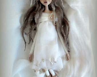 Haunted Agnes OOak Clay ARtDoll by Kymeli