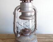 Rusty Silver No. 2 D-Lite Dietz Lantern