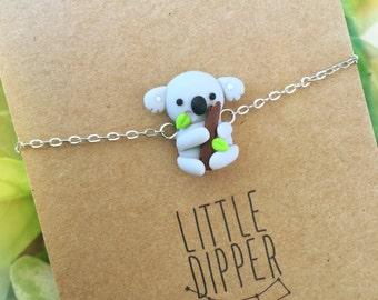 Cute Koala Bracelet - Handmade Jewelry