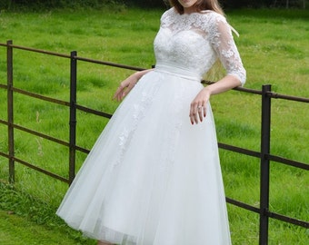 Milley 50's style Wedding Dress