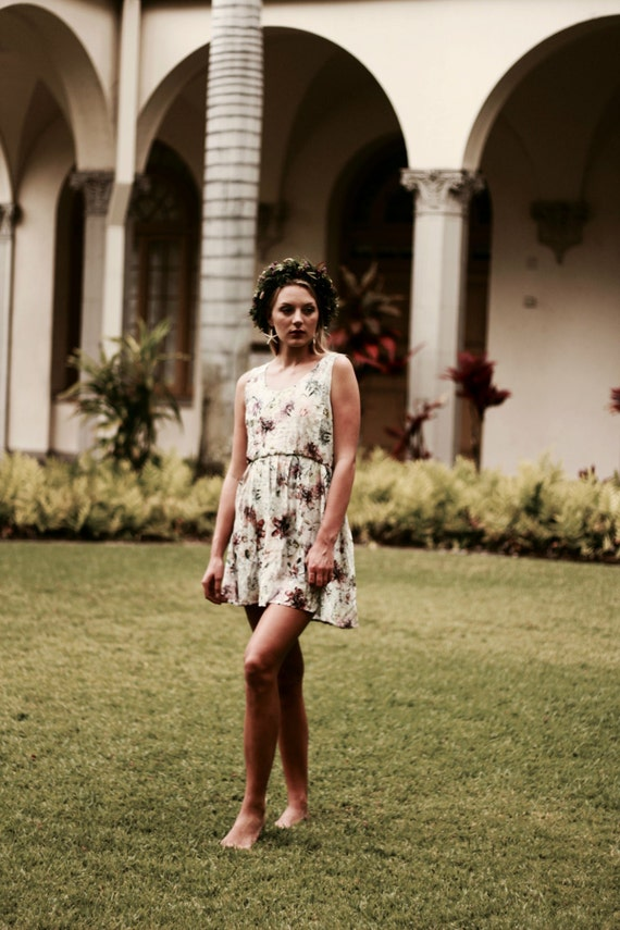 Candace Tank Dress / Exclusive Tiger Lily Print