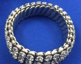 Rhinestone Flexible Bracelet