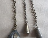 3 Antique Chinese Bells