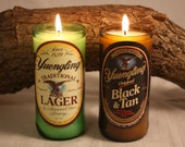 Beer Bottle Candle from Upcycled Yuengling Beer Bottles, High Scented,  Custom Made Candle, One Bottle Candle