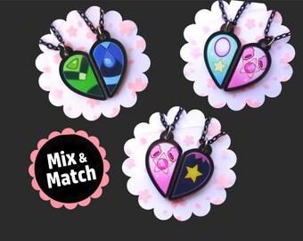 Mix & Match Steven Universe BFF Necklaces