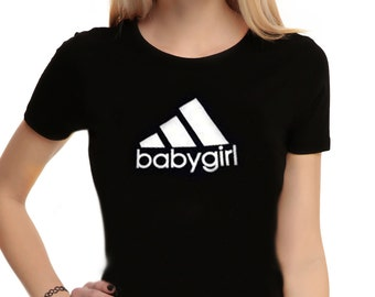BABY GIRL Inspired Shirt, For her, Tumblr shirt, grunge, punk, pastel, witch shirt, streetwear