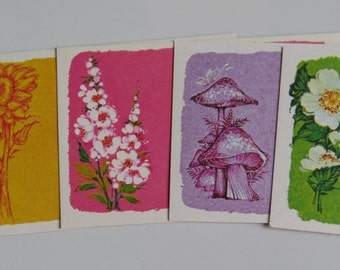 Vintage Post A Note Stationery Mini Set - Groovy Summer Days
