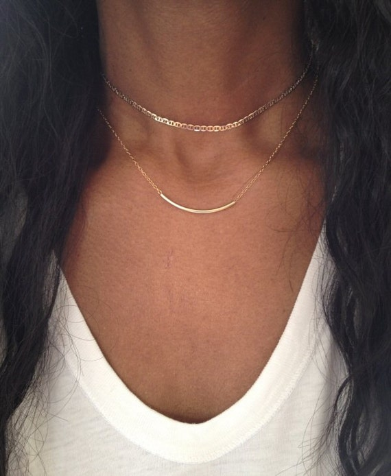 gold choker necklace silver choker necklace gold choker chain. Black Bedroom Furniture Sets. Home Design Ideas
