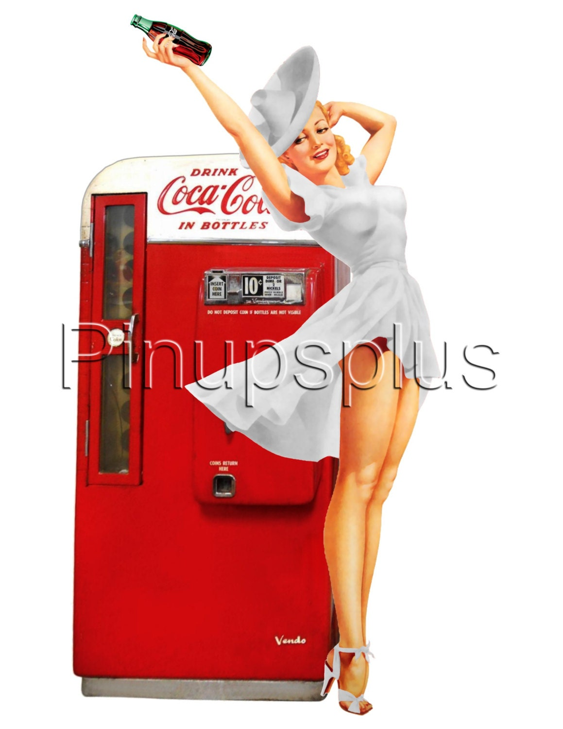 retro soda machine