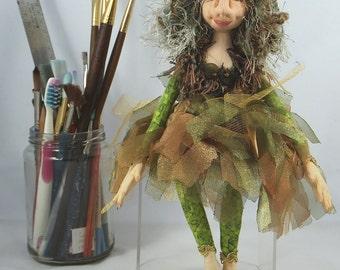 Art Doll-Radella the Faery OOAK Cloth Doll