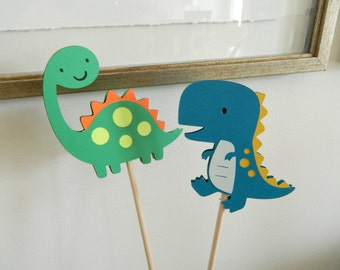 4 Dinosaur Centerpiece Sticks, Dinosaur Table Decor, Dinosaur Birthday Party, Dinosaur Baby Shower