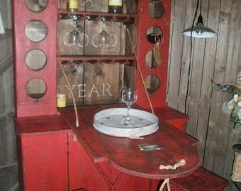 Wine Cupboard  / Wine Tasting Table / Wine Storage
