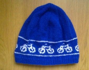 Bicycle beanie hat - bike - cycling