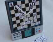 Chess machine board wall table desk clock, suitable for traditional ma...