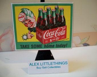 Retro Kühlschrank Coca Cola : Jahrgang rotes getränk coca cola dose tablett 1930 mädchen