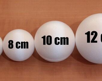 80mm /3.20 inches 3d Styrofoam balls, 3d Polystyrene Balls, polystyrene shapes and spheres, foam balls, snow balls, craft balls, supplies