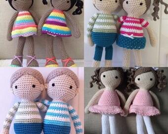Sweet Little Crochet Doll - Design your own!