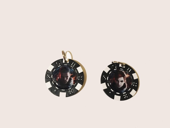 items similar to mass effect chip charm on etsy