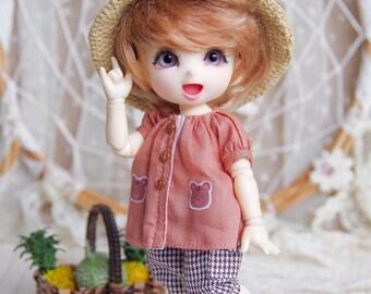 """Lati Yellow/Pukifee - Vintage """"Autumn Harvest"""" Rustic Pant - MixStripe"""