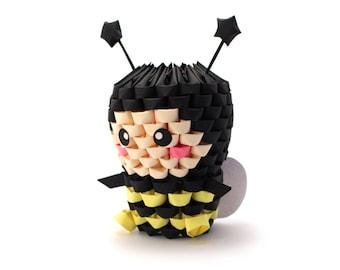 3D Origami Bee