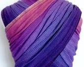 Handwoven Wrap- Canyon Sunrise 3.6m (purple weft)