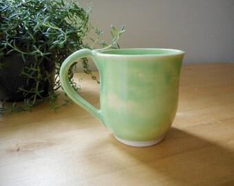 Lime Green Coffee Mug 12 oz