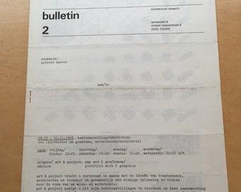 art & project 2 bulletin 2