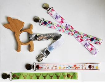 Fawn Wooden Teether | Deer Wooden Teether | Hunting Teether | Baby Hunter