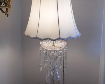 Cristol d'Albret Crystal Table Lamps