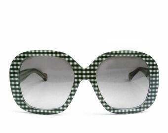 Dolce  Gabbana Gingham Sunglasses