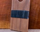 Reclaimed Walnut Wood Wallet // The Single