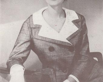 "Film Und Frau ""Myrna Loy""  Sewing Pattern is German from the 1950's"
