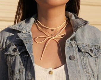 Butterfly Bolo Wrap Necklace - MAIVE by Seoul Little - M1515B