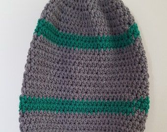 Super Slouchy Crocheted Hat