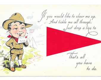 Pair of Soldier and Girlfriend Postcards, c. 1917