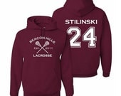 Teen Wolf Hoodie, Stiles Stilinski 24, Beacon Hills Lacrosse Sweatshirt, Gift for Teens
