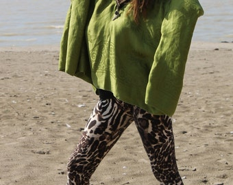 Green Beauty Poncho