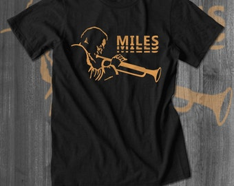 Miles Davis T-Shirt Jazz Tshirt Black History Tshirt African Clothing Music T shirt Men Clothing jazz blues music coltrane grover washington