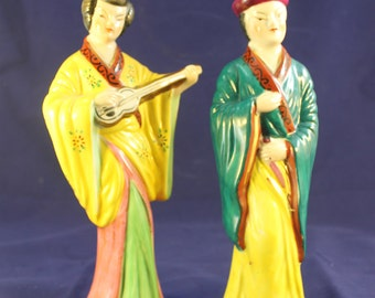 Vintage Ceramic Figurines from Japan