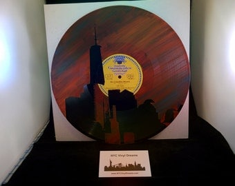 LP NYC World Trade Center skyline