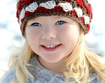Kids Mountain Headband, Baby to Adult Sizes, Kids Winter Headband, Childrens Head wrap, Toddler Headband for Winter, Warm Headband
