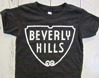 Beverly hills toddler shirt. Los Angeles toddler shirt. LA kids shirt.