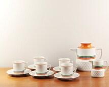Vintage Van Nelle coffee or tea set - Made by Schirnding Bavaria