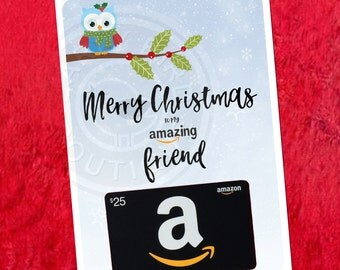 Printable Amazon Gift Card Holder by TheEarlyBirdBoutique ...