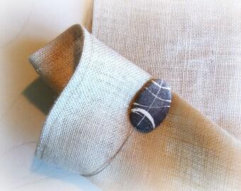Magnetic curtain tiebacks Modern curtain holdback Stone curtain tie home decor
