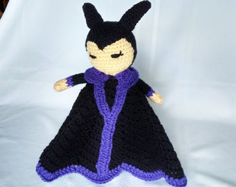 Maleficent Inspired Lovey/Security Blanket