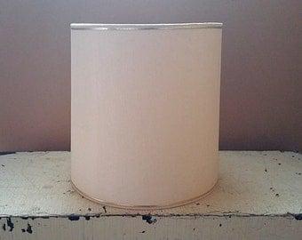 Creamy White Drum Shape 12 Inch  Lampshade Fiberglass Lamp Shade