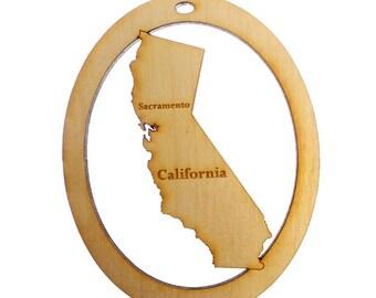 California Ornament - California State Ornament - California Gift - California Ornaments - California Gifts - Personalized Free