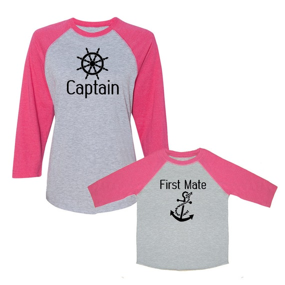 Captain first mate 2 piece women 39 s baseball by for Sweaty t shirts and human mate choice